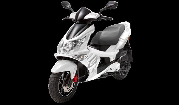 PGO g-max hvid scooter