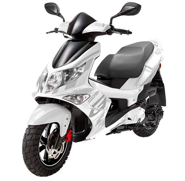 PGO g-max hvid scooter