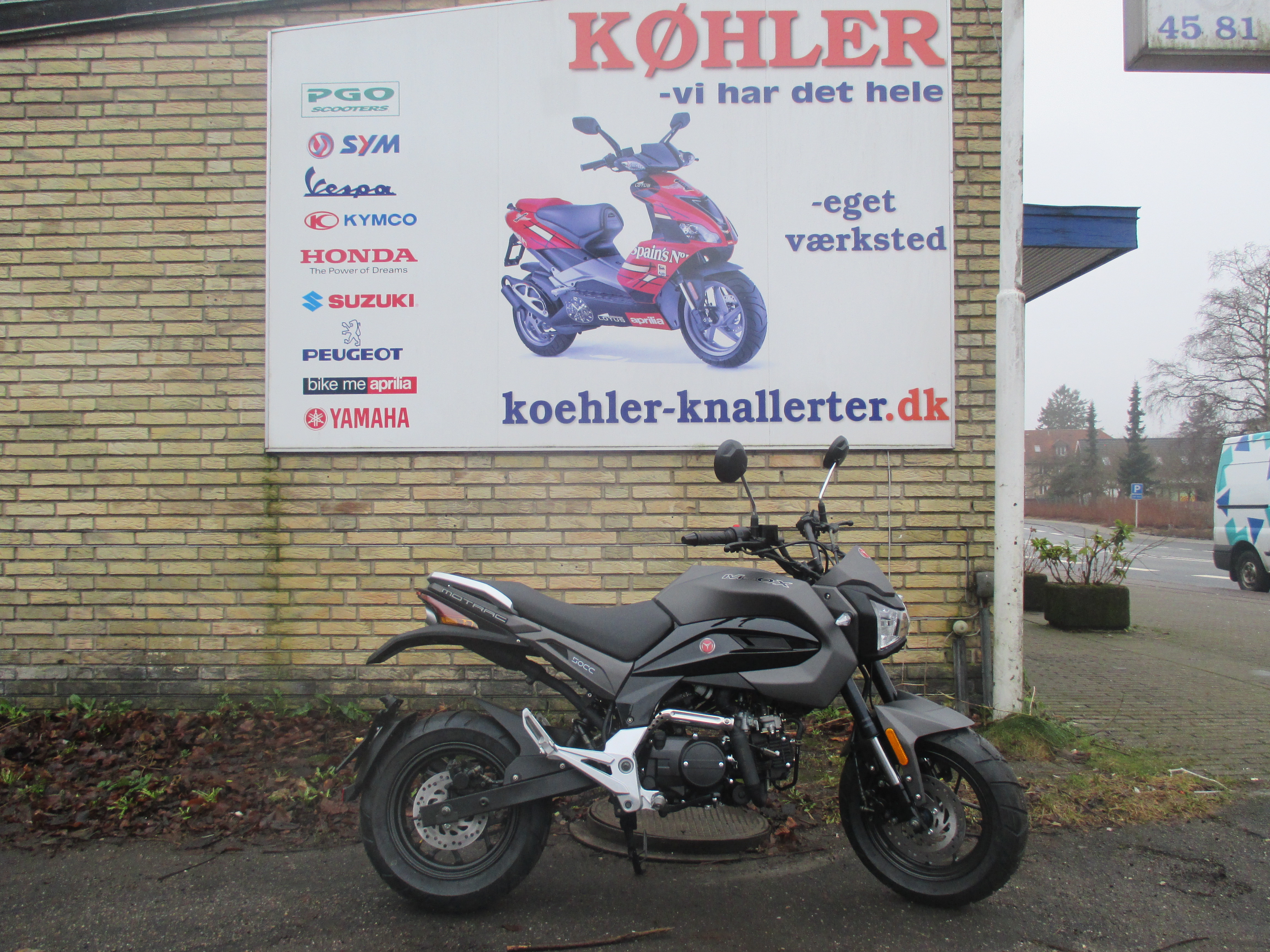 Motrac M-OX knallert