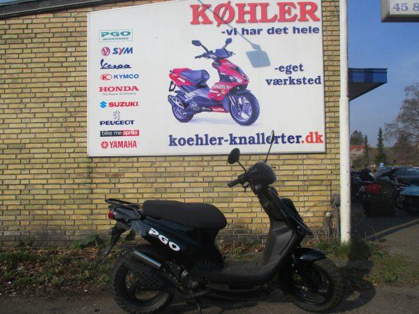 PGO HOT 50 brugt knallert scooter