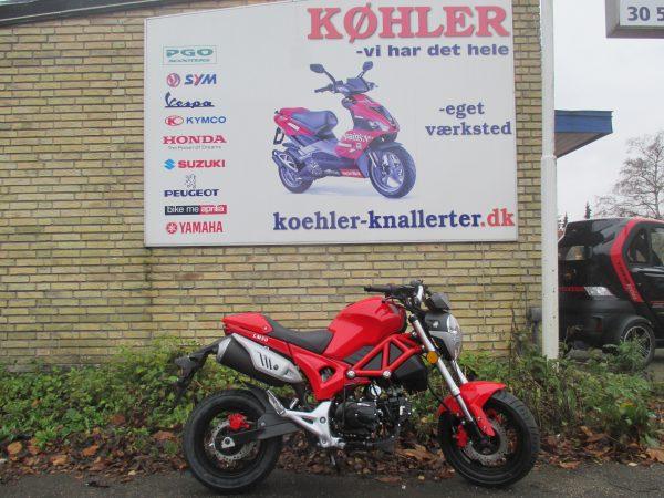 Little Monster scooter knallert forhandler
