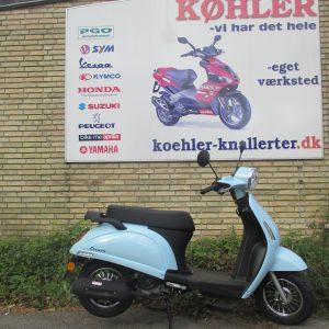 Motowell Elenor scooter knallert forhandler