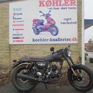 Ygmotor CAFE RACER scooter knallert forhandler