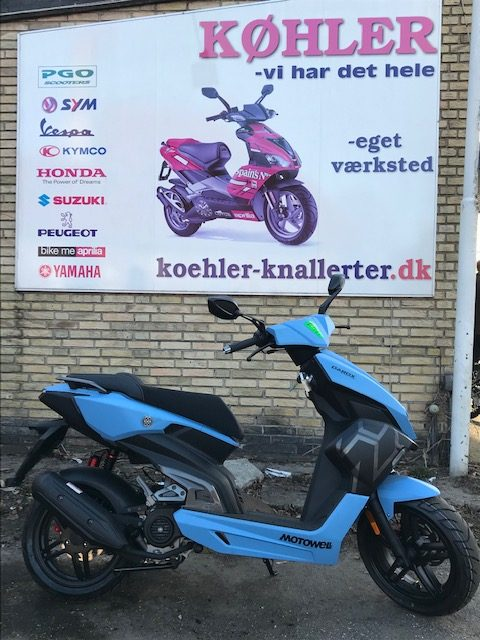 Motowell DAROX 4T scooter